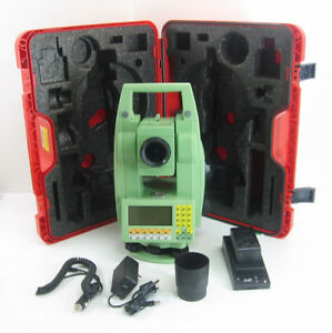 Leica Tcr1102 2 Total Station For Surveying 1 Month Warranty