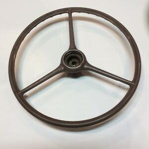 1938 1939 Chevy Master Deluxe Steering Wheel Vintage Original Classic