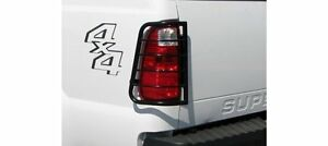 Tac 99 16 Ford F250 f350 Super Duty Tlg Black Taillight Covers Tail Light Guards