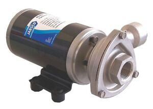 Jabsco Stainless Steel 5 32 Hp Centrifugal Pump Phase 12vdc Voltage