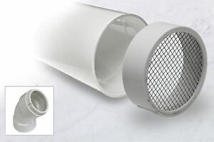 Pvc Termination Pipe Vent Hub Raven R1511 With 304 Stainless Steel Screen 6 Inch