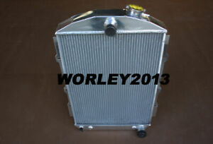 Aluminum Radiator For Chevy Hot Street Rod 350 V8 1938 Automatic
