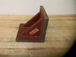 Suburban Tool Cast Iron Angle Plate 8 X 8 X 8 Double web Model paw080808g