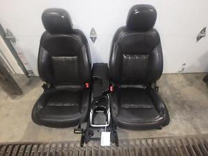2014 2017 Buick Regal Front Seat Console Black Leather Power Heat