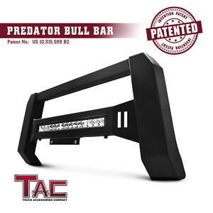 Led Light Modular Bull Bar For 07 18 Chevy Silverado gmc Sierra 1500 Brush Guard