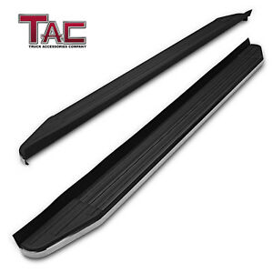 For 2016 2020 Honda Pilot 5 5 Aluminum Running Boards Side Step Rails Nerf Bars