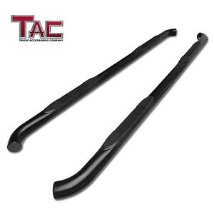 For 2011 2019 Jeep Grand Cherokee 3 Side Step Rail Nerf Bar Running Board Black