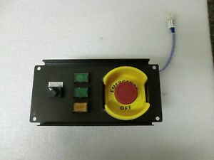 Omron Emergency Off Switch With Steel Enclosure