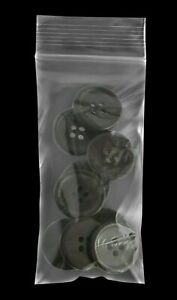 2mil 10000 Resealable Clear Plastic Seal Zip Lock Bags Poly Bag Reclosable 2 X 4