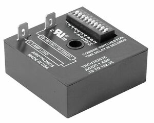 Airotronics Encapsulated Timer Relay Function On Delay Status Indicator