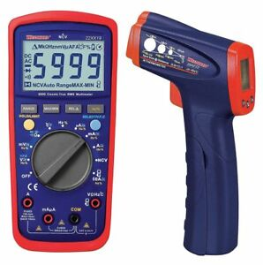 Westward Digital Electrical Multimeter And Infrared Thermometer 22xx27