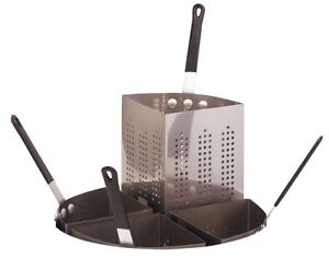Crestware Perforated Stainless Steel Insert Only For Pasta Cooker Pasta20i