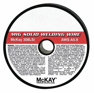 Mckay 2 Lb Stainless Steel Box Mig Welding Wire With 5 16 Diameter And