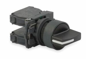 Schneider Electric Non illuminated Selector Switch Size 22mm Position 3