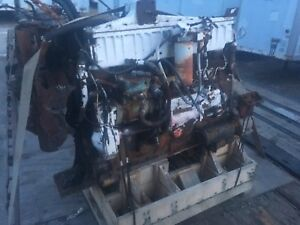 Caterpillar 3406 Cat Diesel Engine 3406a Used Take Out