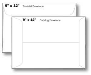 9 X 12 Booklet Envelope Open Side 28 White 9 X 12 Series 500 Ct