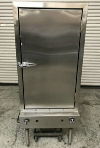 Smoker Bbq Oven Cabinet Gas Aaa Equipment 7748 Commercial Restaurant Cook Nsf