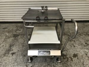Slicer Cart Mounting System Face To Face Deli Buddy 7754 Commercial Food Prep