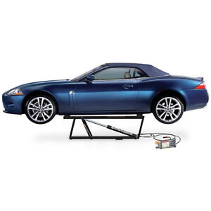 Bendpak Quickjack 5 000lb Portable Car Lift With 12 Volt Dc Motor Bl 5000slx