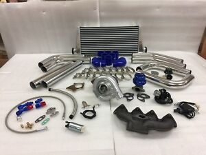 For Hd Civic B Series B16 B18 B20 Zc T3t4 63 Turbo Kit Intercooler Bov Manifold