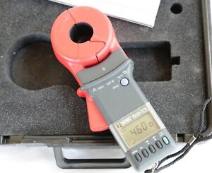 Aemc 3731 Ground Resistance Tester W Accs Used