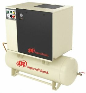 Ingersoll Rand Up675125802003 Rotary Screw Air Compressor 7 5 Hp 3 Ph