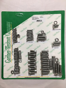 Gw 56490 hs Small Block Chevy Stainless Steel Engine Hex Head Bolt Kit