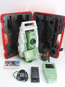 Leica Tcrp1205 Robotic Total Station For Surveying 1 Month Warranty