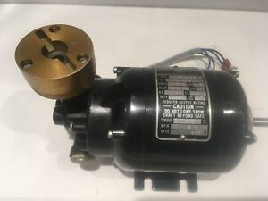 Used Bodine Electric Co Nsi 12r Speed Reducer Motor Hp 1 70 Ratio 600 1