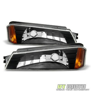 Bumper Lights Signal Lamps For 2002 2006 Chevy Avalanche W Body Cladding Model