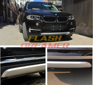 Us Stock Fit Bmw X5 F15 2014 2015 2016 2017 Skid Plate Bumper Board Guard Abs