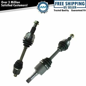 Front Cv Axle Shaft Pair Lh Rh Sides For Chevy Equinox Pontiac Torrent New