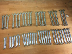 Nos Vintage Craftsman Usa 12 Point Metric Combination Wrenches V V Many Size
