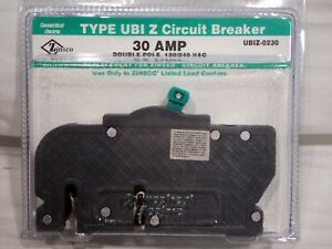 Connecticut Electric Type Ubi Z Circuit Breaker 30amp Ubiz 0230 Bnib