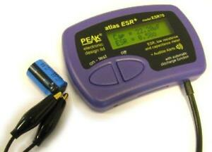 Peak Capacitance And Equivalent Series Resistance Meter
