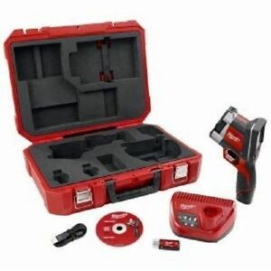 New Milwaukee 2260 21 M12 12 Volt Cordless Thermal Imager Kit With Case Warranty