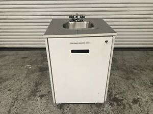 Portable Hot Water Hand Wash Sink Mobile Station Mill Works 7737 Commercial Nsf