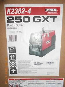 Lincoln Ranger 250 Gxt K2382 4 With Efp Brand New In Box Heavy Duty Cover