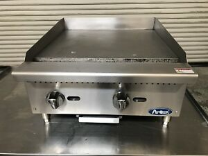 24 Manual Griddle Atosa Atmg 24 7716 Commercial Restaurant Flat Top Grill