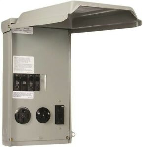 Ge Ge1lu532ss Unmetered Rv Outlet Box 100 Amp