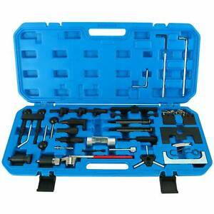 Vag Petrol Diesel 97 08 Audi Vw Engine Timing Belt Adjust Locking Tool Kit Us