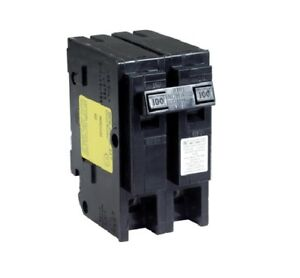 Square D Hom2100cp Homeline Double Pole Circuit Breaker 100 Amp 2
