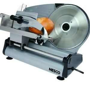 Electric Meat Slicer Deli Frozen Grade Food 8 7 Inch Commercial Blade Cutter New
