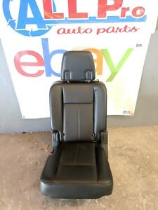 2015 2016 Ford Expedition Left Rear 2nd Row Seat Black Leather Oem Complete