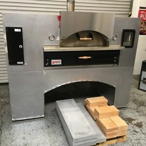 Pizza Oven Gas Marsal Sons Wave Flame Wf60 7076 Commercial Restaurant Bake