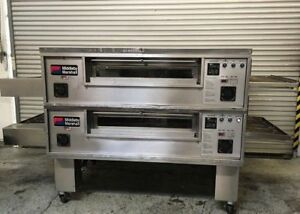 Double Stack Conveyor Pizza Oven Gas Middleby Marshall Ps570m 7068 Commercial