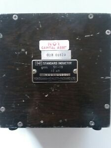 Hp Standard Inductor Model Si 10