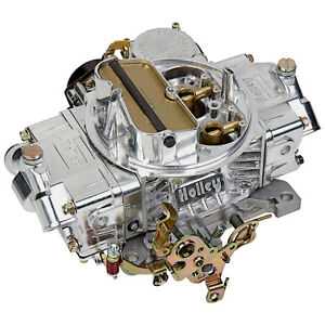 Holley 0 80458sa Carburetor 4160 Street 600 Cfm Polished