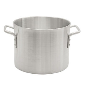 New 60 Qt Stock Pot Aluminum Thunder Group Alsksp009 7390 Commercial Cook Nsf