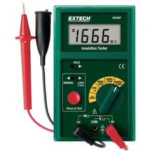 Digital Insulation Tester Resistance Multimeter Measuring meter to 2000 Megohm
